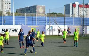 В Харькове состоялся ежегодный турнир по футболу среди девочек