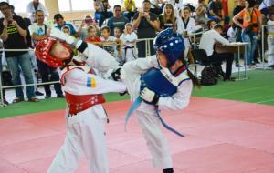 Программа «Харьков спортивный» о втором этапе Всеукраинского турнира «Гран При Атака» по тхэквондо ВТФ