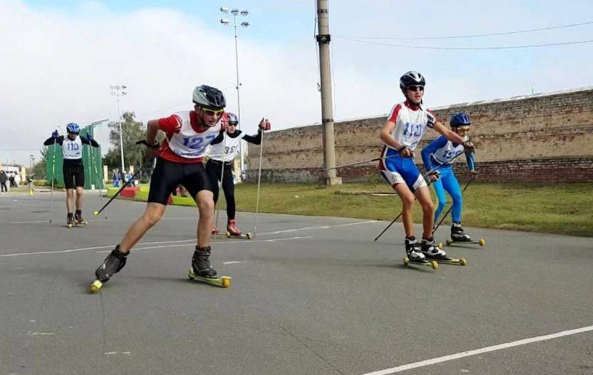Харьковчанин Руслан Перехода завоевал три медали на чемпионате Украины на лыжероллерах