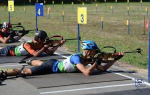 Харьковчанка Ольга Абрамова стала бронзовым призером чемпионата Украины по летнему биатлону