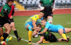 Сборная Украины по регби победила в Харькове команду Литвы