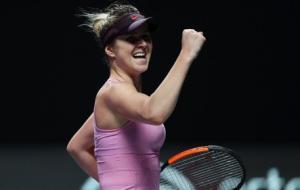 Третья победа Элины Свитолиной на итоговом теннисном турнире
