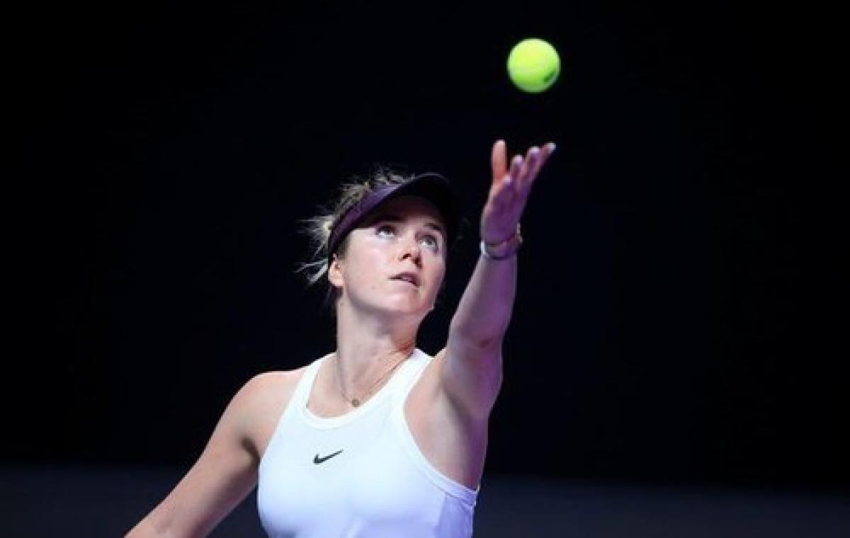 Элина Свитолина заняла второе место на итоговом теннисном турнире