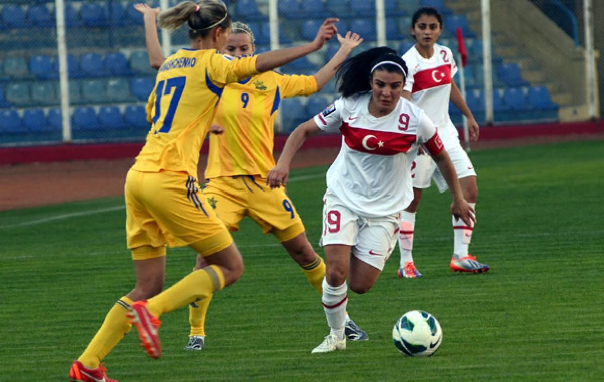 Харьковчанки в составе сборной Украины обыграли в гостях Турцию со счетом 4:0