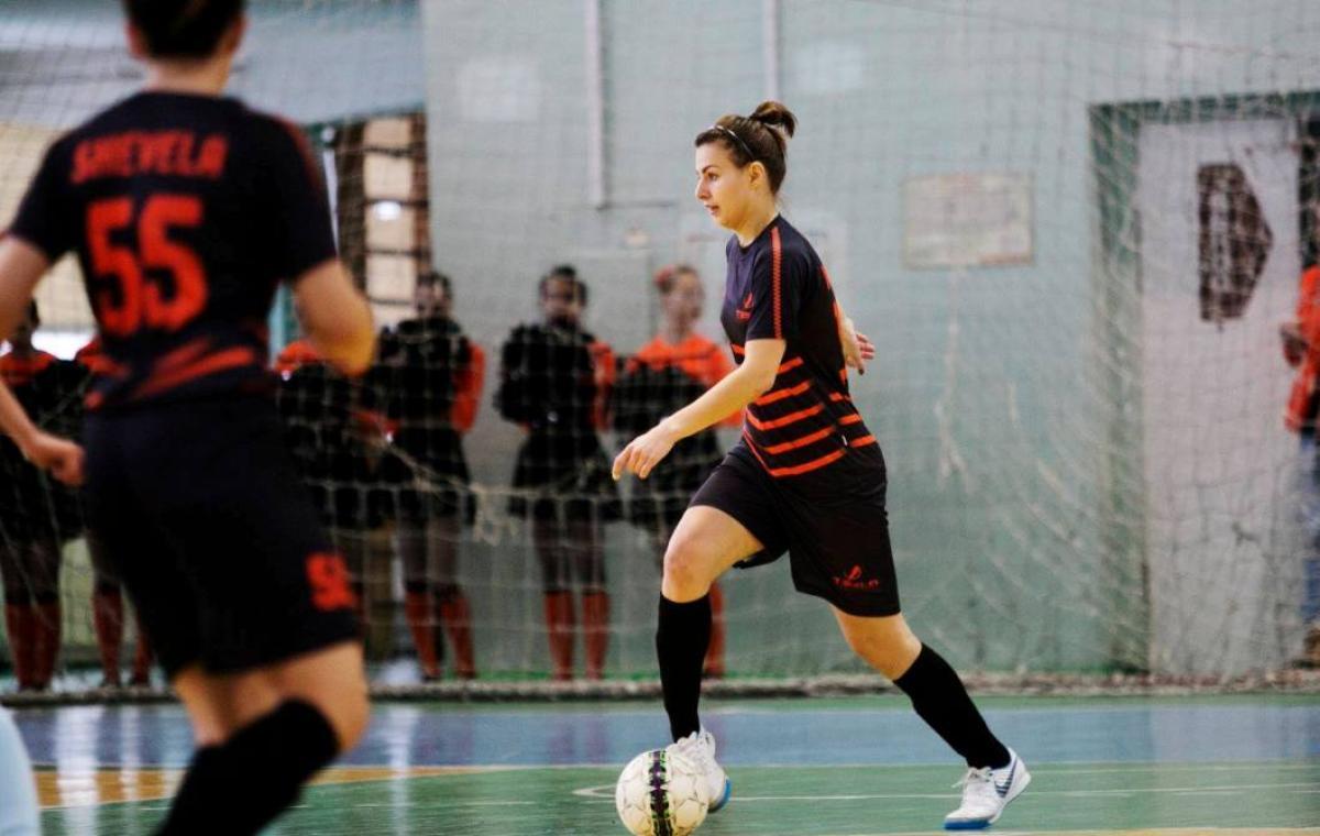 Харьковская «TESLA» победила в домашнем матче чемпионата Украины по футзалу среди женщин