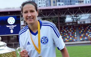 Харьковчанка Дарья Апанащенко признана лучшей футболисткой 2019 года в Украине