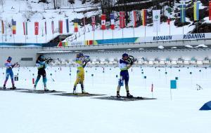 Ольга Абрамова на этапе Кубке IBU по биатлону в спринте остановилась в шаге от пьедестала почета