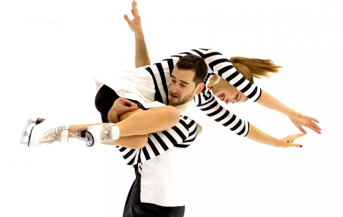 Победный дубль харьковских танцевальных пар на чемпионате страны по фигурному катанию