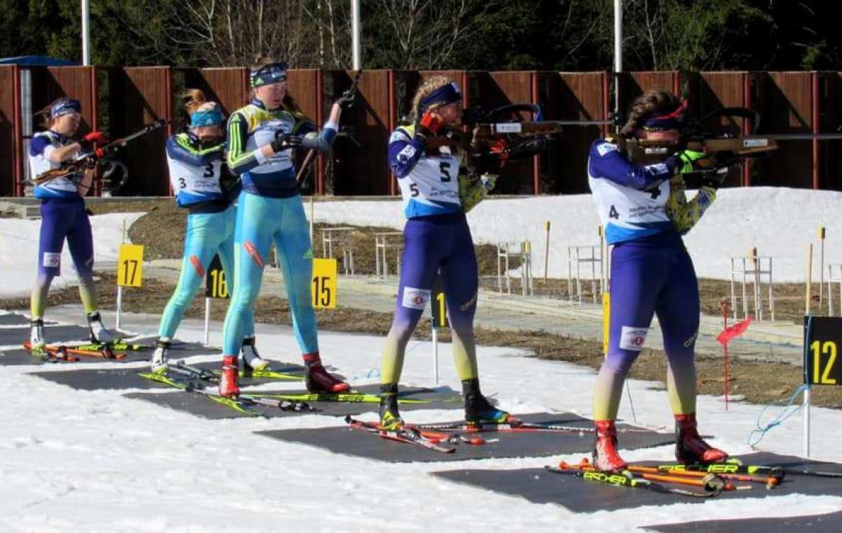 Во втором спринте на чемпионате Украины Любовь Кипяченкова финишировала четвертой