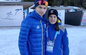 Степан Кинаш вместе с Анной Скрипко заняли 6 место на юношеской зимней Олимпиаде