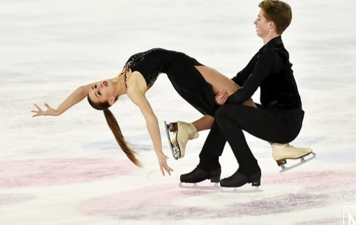 Харьковские фигуристы Анна Чернявская и Олег Муратов стали седьмыми среди танцевальных пар