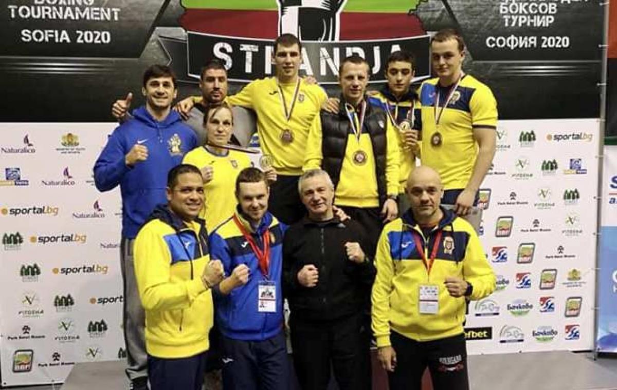 Харьковские боксеры завоевали пять медалей на международном турнире в Болгарии