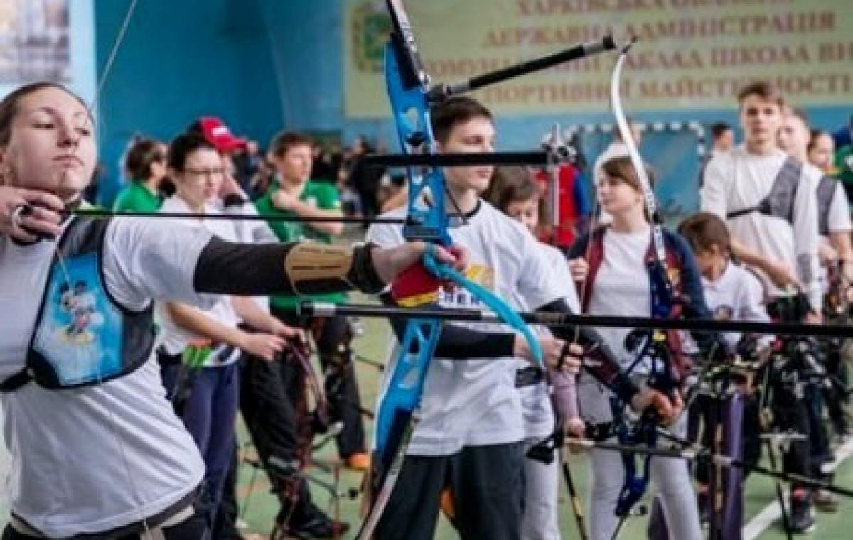 Четыре медали харьковских лучников на юношеском чемпионате Украины