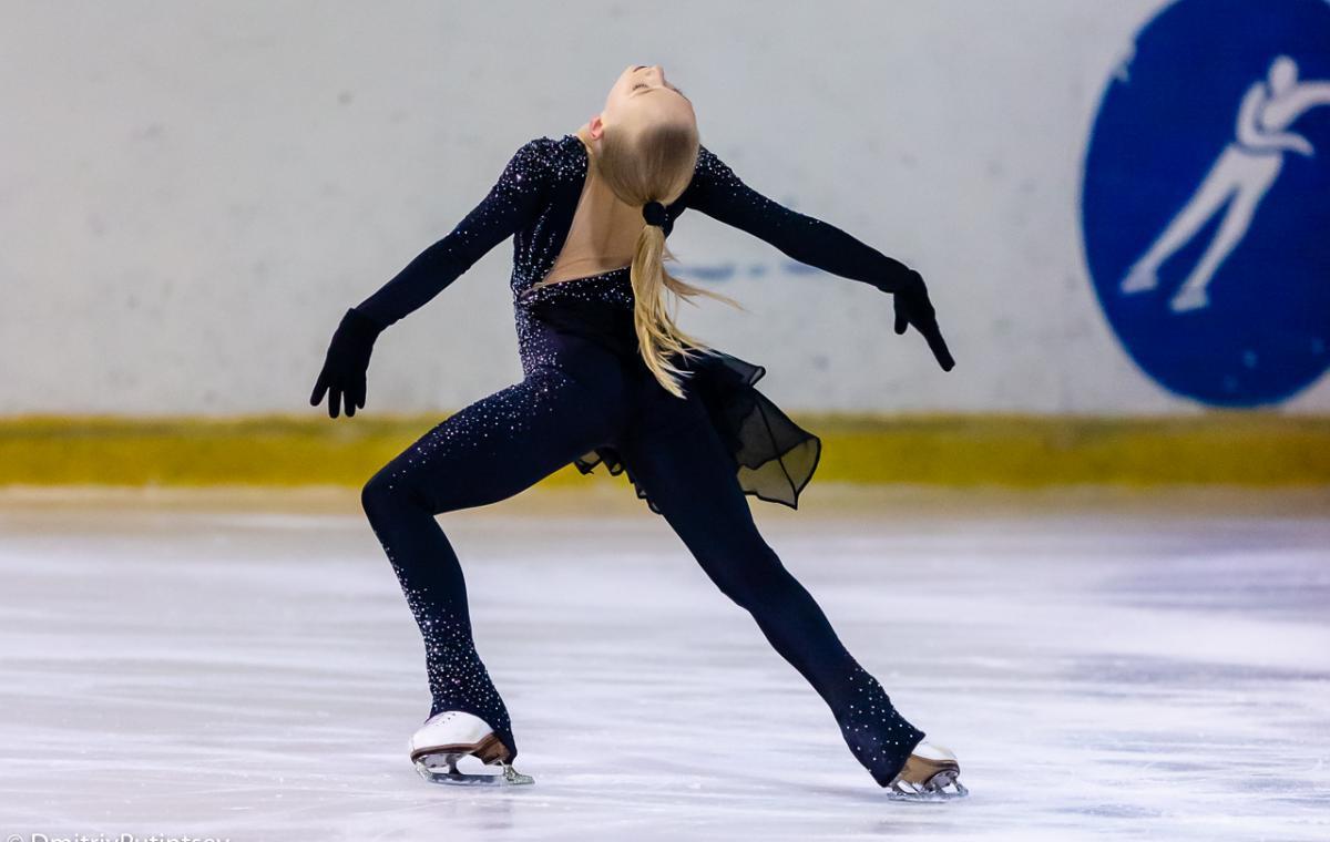 В Харькове состоялись Всеукраинские соревнования по фигурному катанию