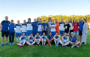 Футболистки харьковского «Жилстроя-2» стали чемпионками Украины