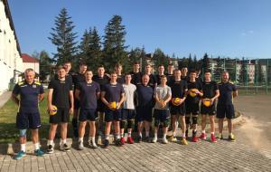 Сборная Украины U-20 по волейболу в Харькове начала второй этап подготовки к Евро-2020