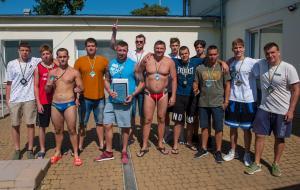 Мужская сборная Харьковской области по водному поло завоевала серебряные медали чемпионата Украины