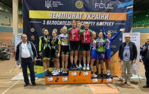 Харьковские велосипедисты завоевали более 30 наград на чемпионате Украины на треке