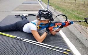 Любовь Кипяченкова завоевала бронзовую медаль на юношеском чемпионате Украины по летнему биатлону