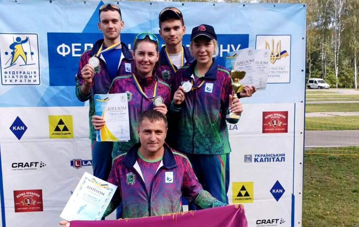 Харьковчане завоевали четыре медали на юношеском чемпионате Украины по летнему биатлону и заняли третье общекомандное место