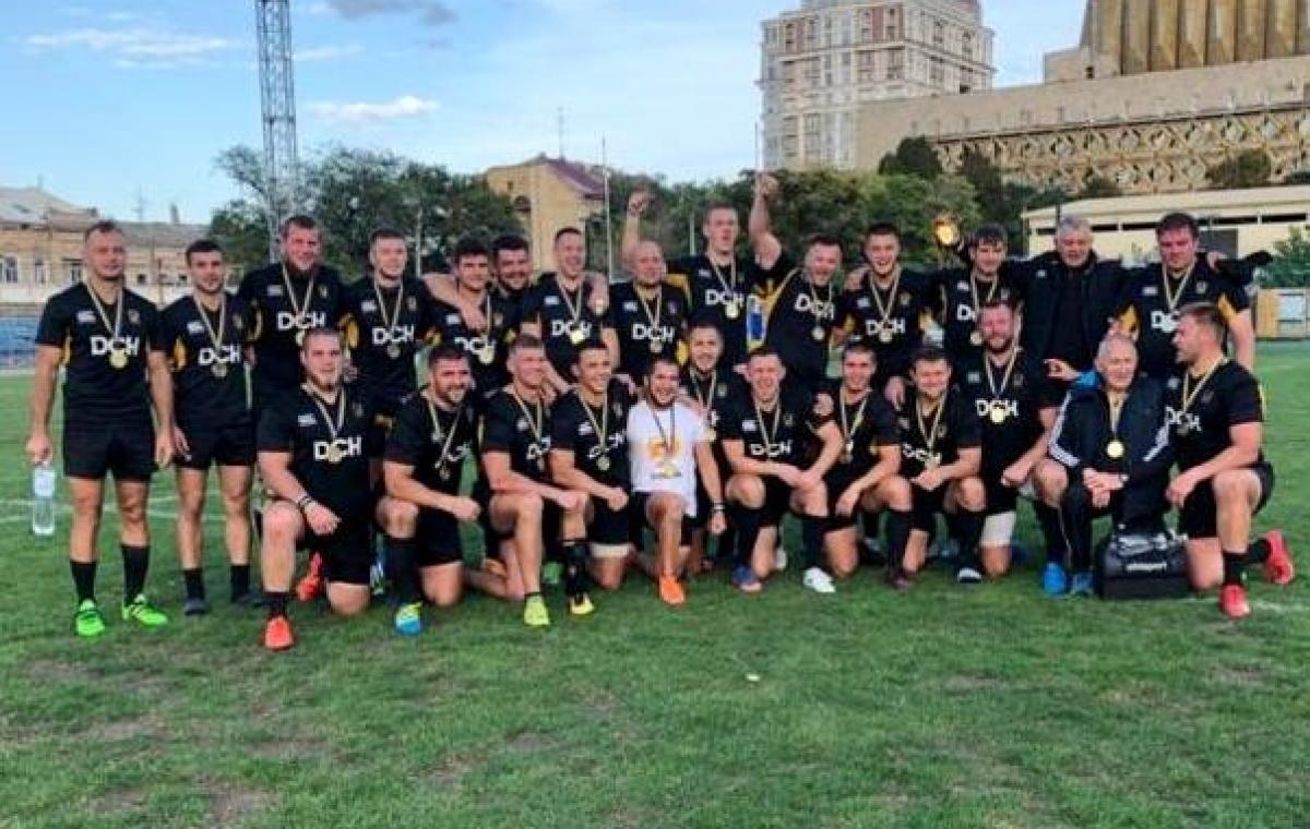 Харьковский «Олимп» стал 16-кратным чемпионом Украины по регби-15