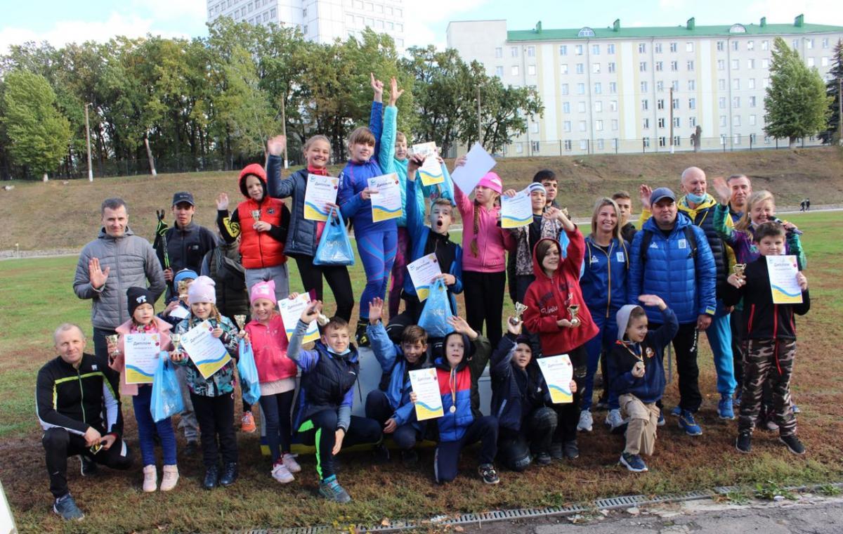 В Харькове прошли соревнования на лыжероллерах