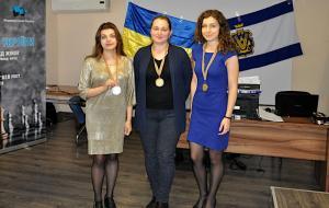 Евгения Долуханова завоевала серебряную медаль на чемпионате Украины по шахматам