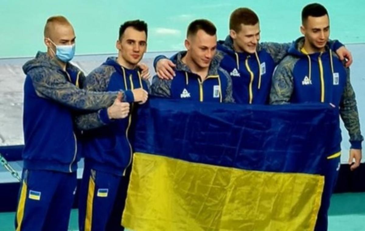 Харьковский гимнаст Владислав Грико в составе сборной Украины стал чемпионом Европы