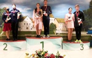 Две награды харьковских фигуристов в Минске