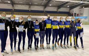 Убедительная победа харьковчан на Кубке Украины по шорт-треку