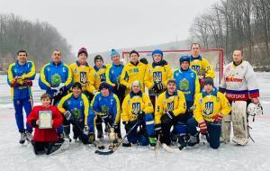 Сборная Харьковской области по хоккею с мячом завоевала Кубок памяти В.Боброва