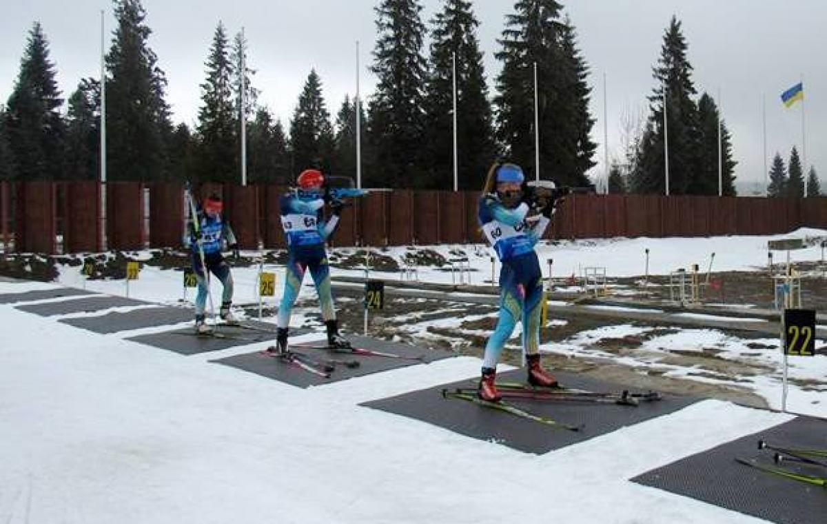 Харьковчане остались без наград в спринте на юниорском чемпионате Украины по биатлону