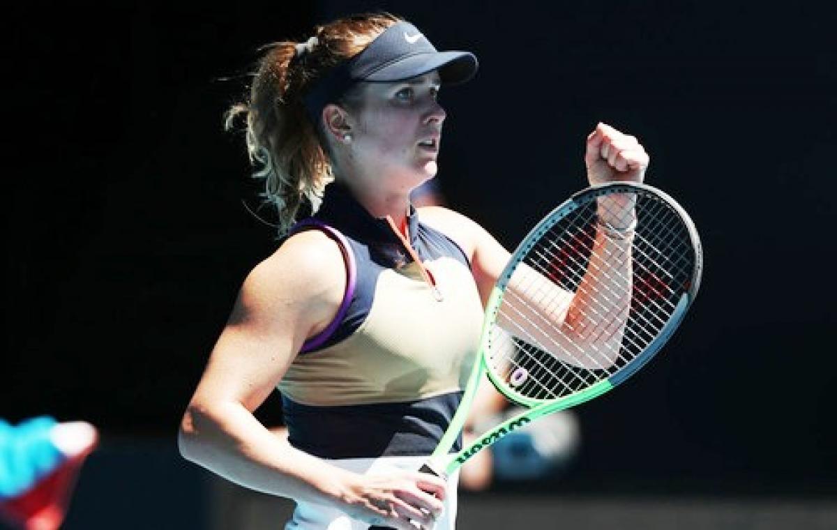 Элина Свитолина с победы стартовала на открытом чемпионате Австралии по теннису