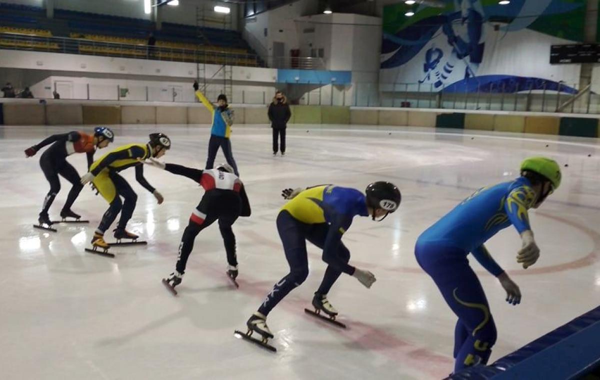 Медальный успех харьковчан на чемпионате Украины по шорт-треку