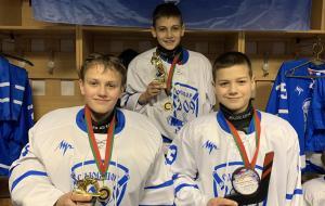 Юные харьковские хоккеисты победили на турнире в Беларуси