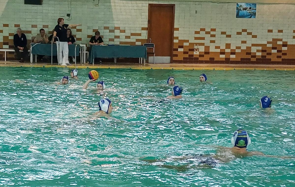 В Харькове состоялся третий тур чемпионата Украины по водному поло среди мужчин