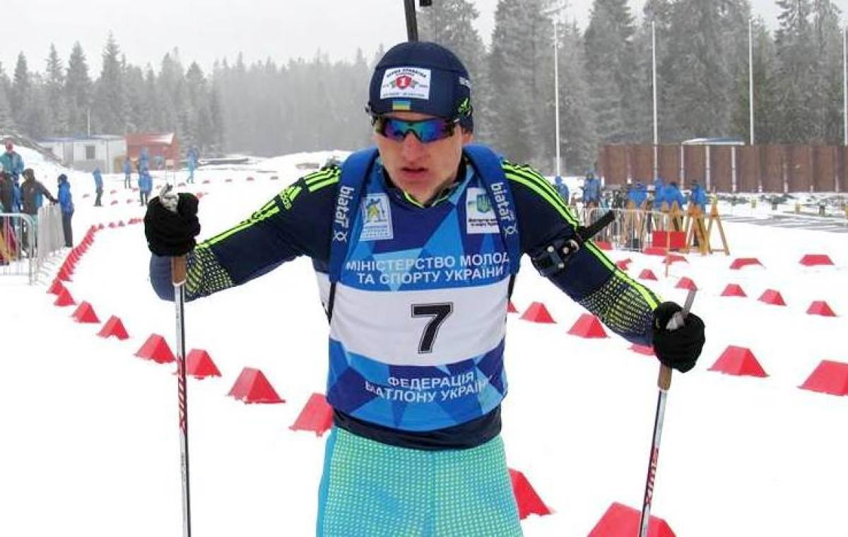 Александр Пономаренко выиграл спринт на чемпионате Украины по биатлону среди студентов