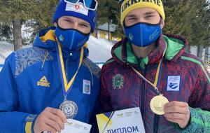 Золотой успех Степана Кинаша на юношеском чемпионате Украины по биатлону
