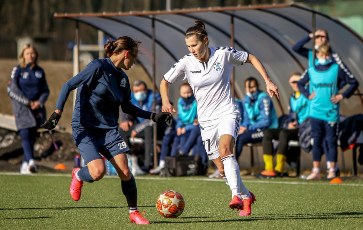 «Жилстрой-1» вышел победителем в матче двух харьковских женских команд