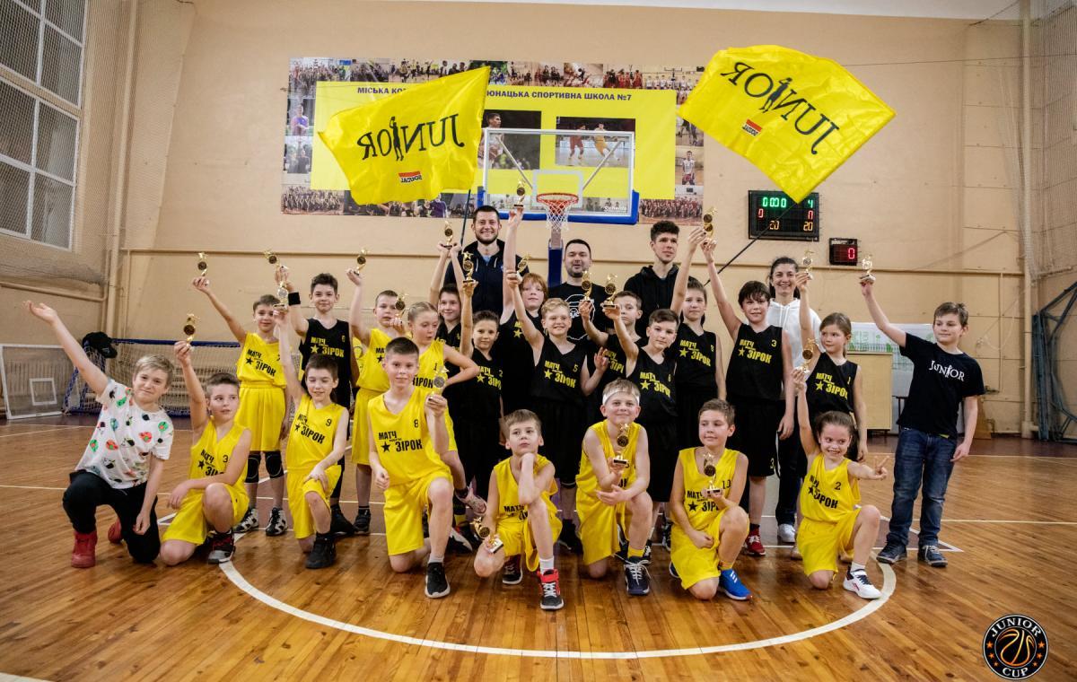 Программа «Харьков спортивный» о финальном этапе турнира по мини-баскетболу «Junior Cup»