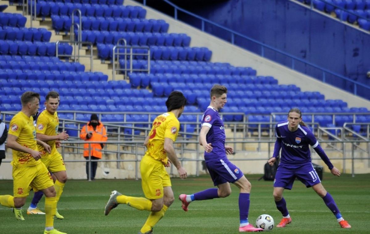 На харьковском стадионе «Металлист» прошел еще один матч украинской Премьер-Лиги