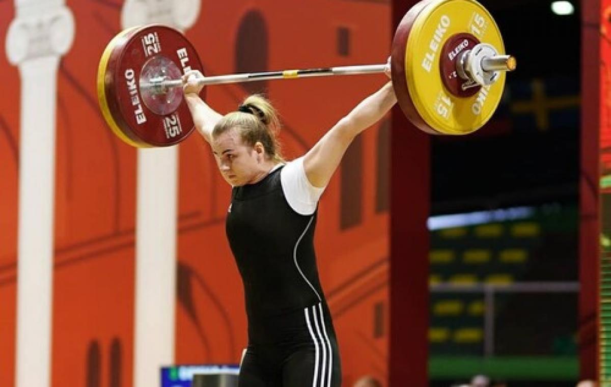 Харьковчанка Ирина Деха - чемпионка Европы по тяжелой атлетике