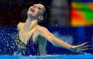 Харьковчанка Марта Федина - чемпионка Европы по артистическому плаванию!