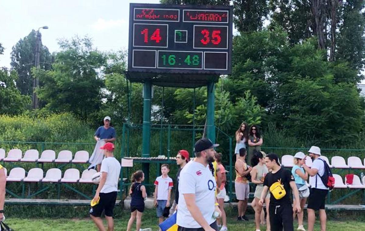 Регбисты «Олимпа» в Одессе обыграли местный «Кредо-63»