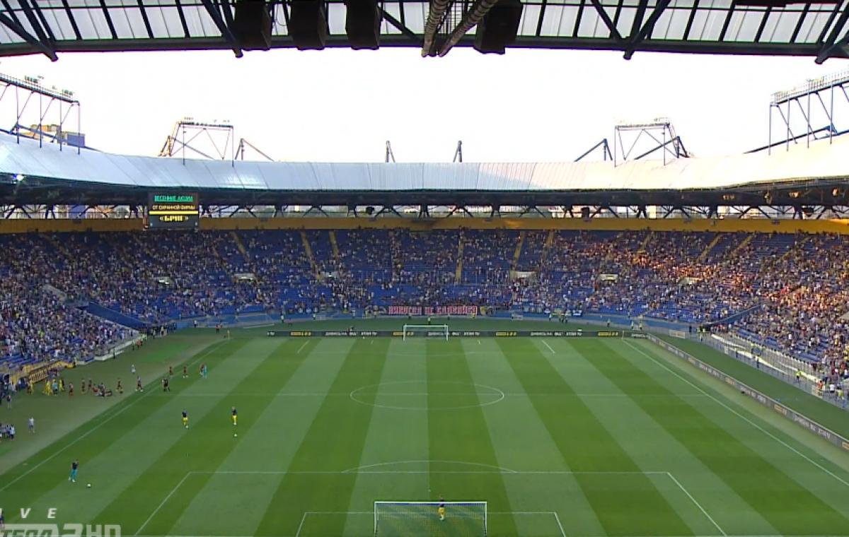 Матч «Металлиста» с «Ужгородом» посетило рекордное для Первой лиги количество зрителей — 35 262