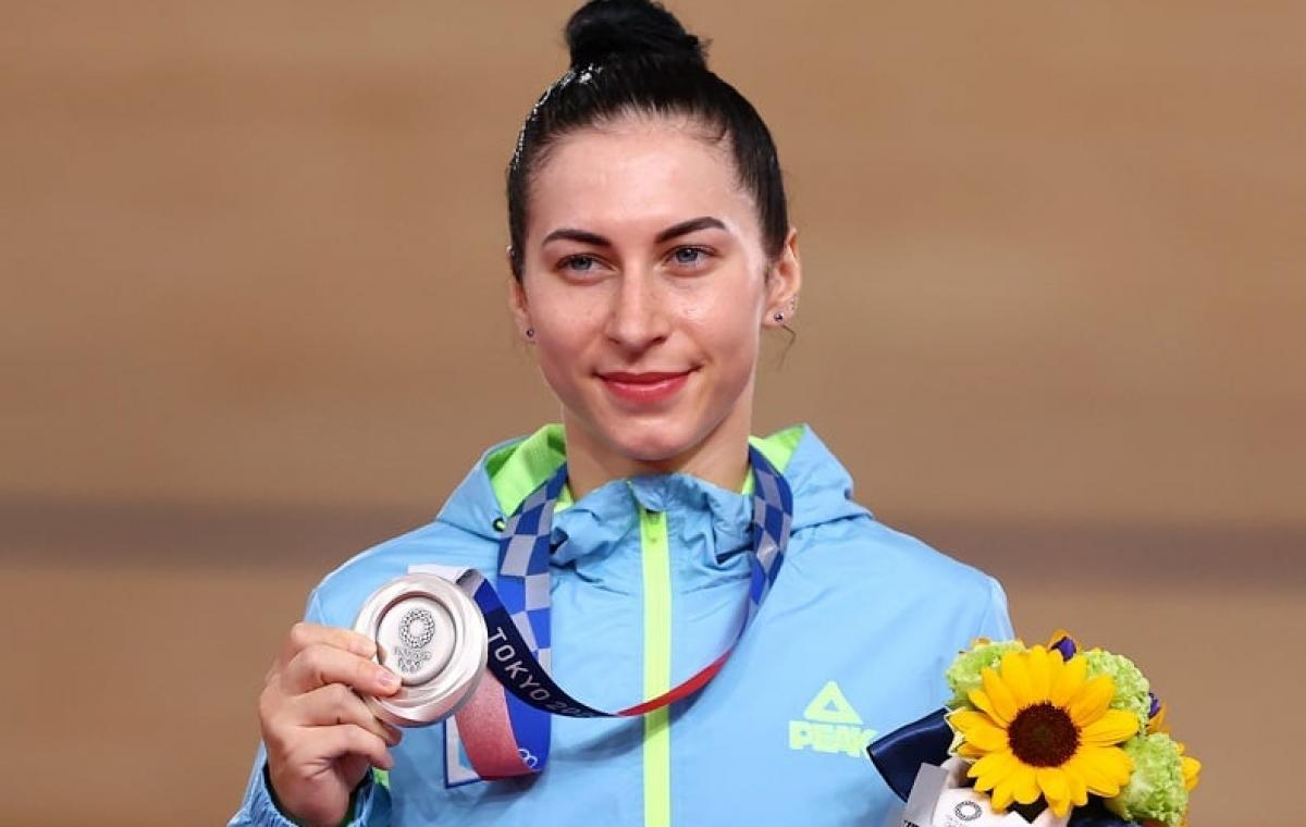 Воспитанница харьковского велоспорта Елена Старикова завоевала серебряную награду на Олимпийских играх!