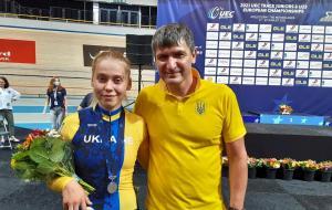 Харьковчанка Алла Билецкая стала вице-чемпионкой Европы по велоспорту на треке