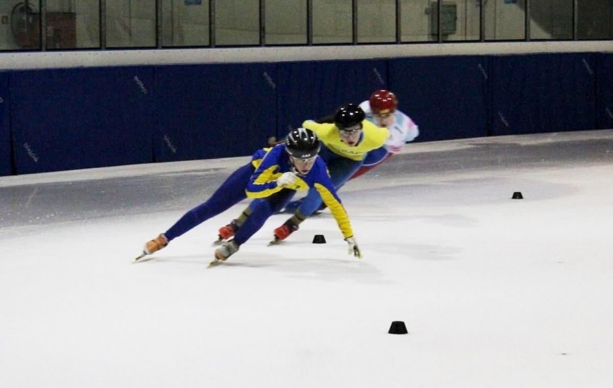 Екатерина Соловьева стала двукратным победителем этапа Кубка Европы по шорт-треку